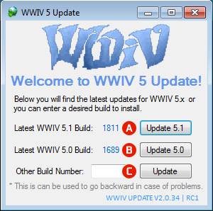 WWIV Update for Windows