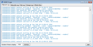 WWIV5TelnetServer Log Viewer